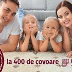 Foto: 400 de covoare cu reducere specială de 40% la 40 de ani Floare Carpet SA! Bucură-te de surprize și premii valoroase!