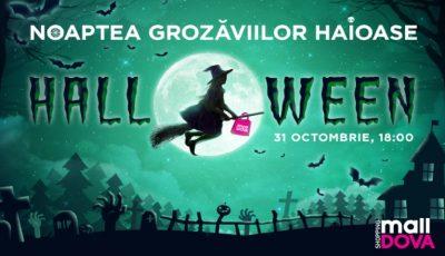 """De Halloween, Shopping MallDova este """"bântuit"""" de fantome. Vino să descoperi lumea personajelor ciudate"""