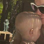 Foto: Xenia Sobchak a explicat de ce nu-și va boteza fiul