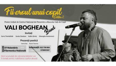 """O nouă ediție a concertului """"Fii eroul unui copil""""!"""