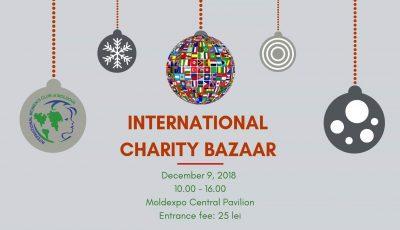 """Clubul Internațional al Femeilor din Moldova vă invită la """"Târgul international de caritate-2018""""!"""