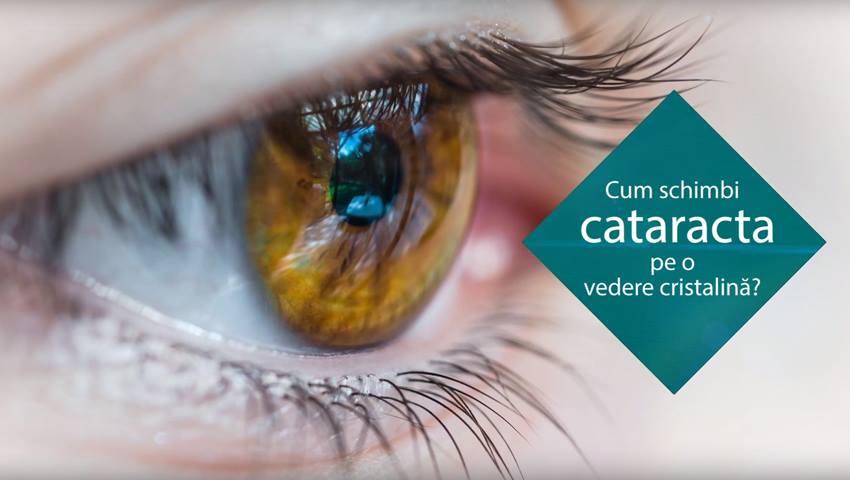 Foto: Tratamentul cataractei cu cristaline de ultima  generație