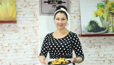 Desert vegetarian din mere, gutui și dovleac de la Angela Chelaru