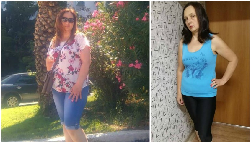 Foto: A slăbit 27 de kg în doar cinci luni cu ajutorul Centrului online de nutriție și sport galinatomas.com! Angela Lisnic, un adevărat exemplu de ambiție și determinare