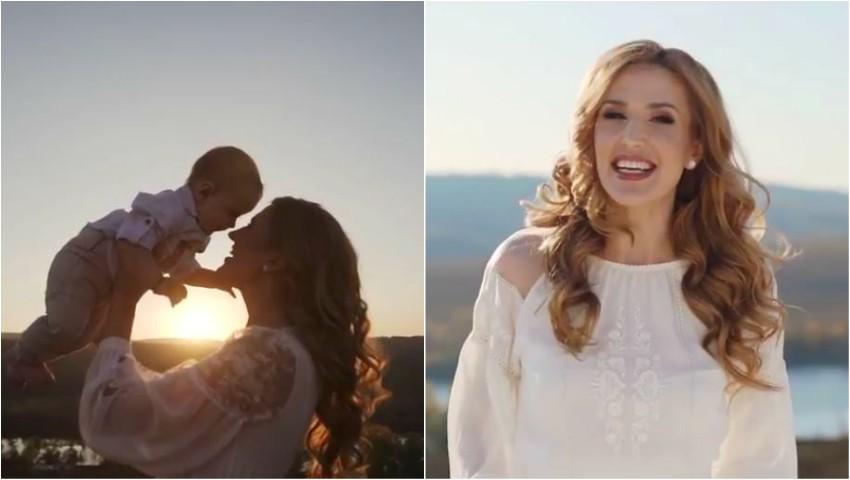 Emoționant! Tatiana Heghea a lansat un nou videoclip, în care apar și copiii vedetei