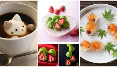 Imagini neobișnuite a celor mai delicioase dulciuri japoneze