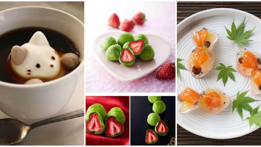 Foto: Imagini neobișnuite a celor mai delicioase dulciuri japoneze