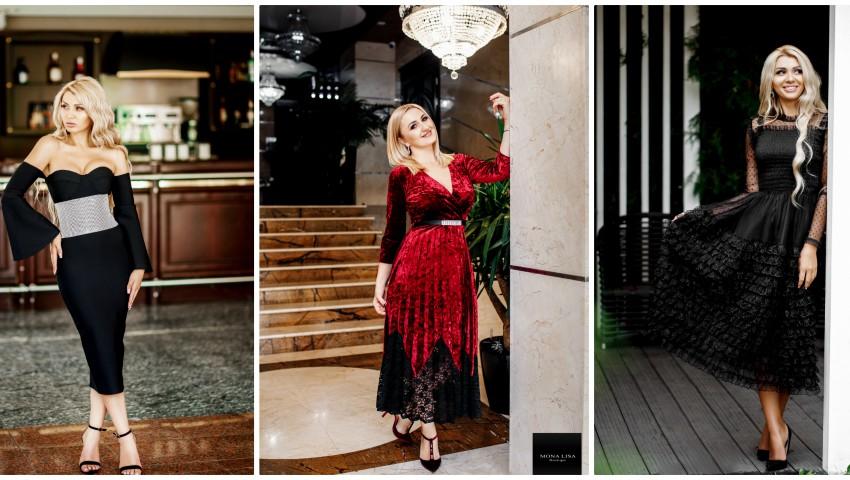 Foto: Rochii potrivite pentru ocazii speciale! Doar de Black Friday ai reduceri spectaculoase la Mona Lisa Boutique