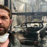 Foto: Incendiile devastatoare din California: casa lui Gerard Butler a ars din temelii