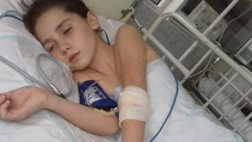 Foto: O fetiță de 9 ani are nevoie urgent de ajutor!