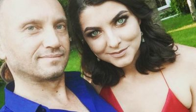 Anatol Durbală, mesaj plin de admirație pentru soția sa, Olesea Sveclă. Vezi ce spune despre ea și cum a felicitat-o