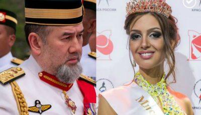O rusoaică Miss Moscova s-a măritat cu Regele Malaeziei. Imagini de la nuntă