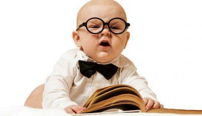 """Unii părinți îmi spun: """"Îl învăț pe fiul meu de doi ani să citească!"""" Iar le eu răspund: """"Ei bine, ești un prost!"""""""
