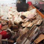 Foto: O fetiță de 7 ani și fratele ei, de 7 luni, au suferit arsuri grave după explozia unei sobe