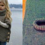 Foto: Vestă tricotată pe nasturi, o idee inspirată pentru meșterițele începătoare