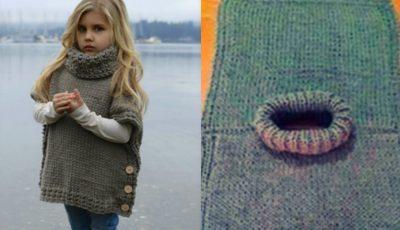 Vestă tricotată pe nasturi, o idee inspirată pentru meșterițele începătoare