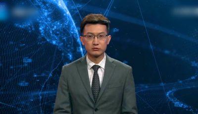 """Primul ,,prezentator TV digital"""" va prezenta știri non stop, la un post de televiziune din China. Video"""