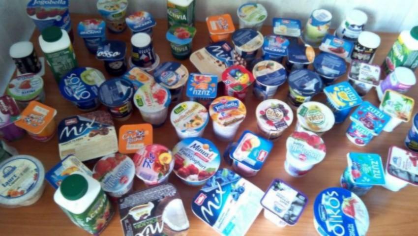 Date alarmante: unele iaurturi conțin mai mult zahăr decât băuturile carbogazoase