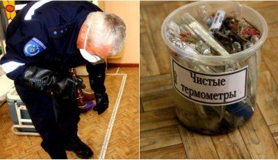 Alertă! Șase termometre cu mercur s-au spart la o grădiniță din Capitală