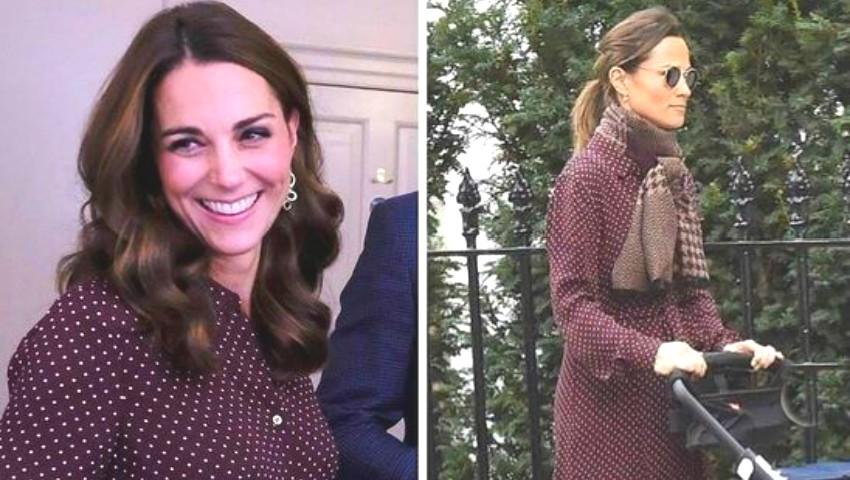Foto: Kate îi împrumută haine surorii sale