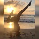 Foto: Vedeta de-acasă care se poate lăuda cu cel mai flexibil corp. Video senzațional!