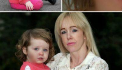 Și-a lăsat fetița de un an și jumătate într-un loc de joacă, iar când s-a întors a găsit-o plină de sânge
