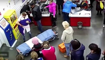 O femeie din Rusia a născut în magazin. Nașterea s-a declanșat fulgerător. Video!