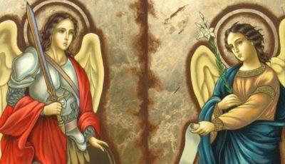 Creștinii ortodocși de stil vechi îi cinstesc astăzi pe Sfinții Arhangheli Mihail și Gavriil