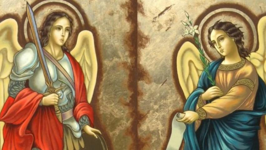 Foto: Creștinii ortodocși de stil vechi îi cinstesc astăzi pe Sfinții Arhangheli Mihail și Gavriil