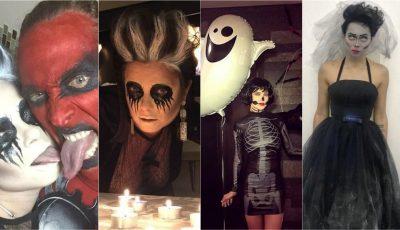 Cum s-au costumat vedetele din Rusia de Halloween?