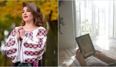 Video! Interpreta de muzică populară Cristina Ceauș lansează o piesă emoționantă în memoria tatălui ei