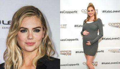 Kate Upton a născut! Modelul a publicat prima imagine cu bebelușul
