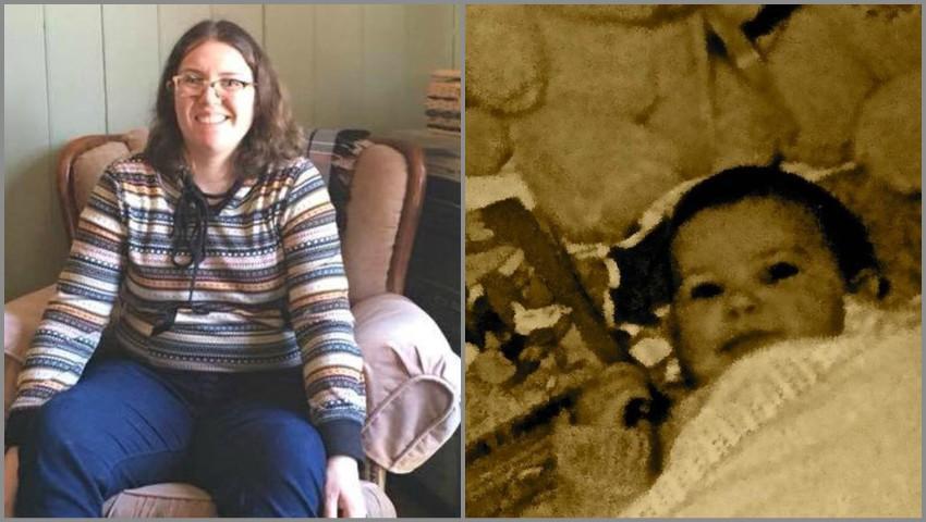 O tânără își amintește ce-i făcea mama ei la doar săptămâni de viață