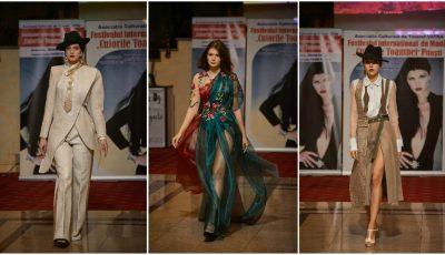 """Studentele de la Design, din cadrul UPS """"Ion Creangă"""", au obținut primele locuri la Festivalul Internațional de Modă """"Culorile Toamnei"""", desfășurat la Pitești"""