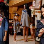 Foto: Așa mamă, așa fiică! Kamelia și Tatiana Melnic, în ținute identice create de un designer autohton