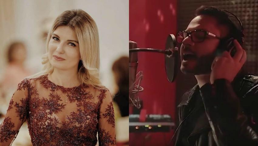"""Foto: Mariana Mihăilă și Natan au lansat o piesă împreună: ,,Viața noastră-i cântec!"""""""