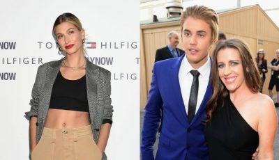 Cum se înţelege soția lui Justin Bieber cu soacra