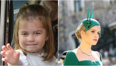 Surprinzător! Prinţesa Charlotte este copia lui Lady Kitty Spencer, în copilărie. Vezi imaginile