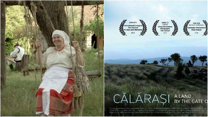 """Foto: ,,Călărași-un ținut la poarta raiului"""" – filmul în regia lui Dumitru Grosei, a obținut premiul mare la Amorgos Tourism Film Festival din Grecia"""