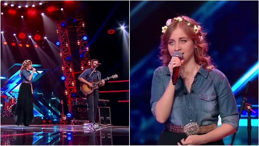 """Foto: O moldoveanca și-a invitat iubitul în scenă, la ,,X Factor"""". Cei doi au creat un moment memorabil"""