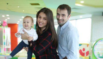 Mirela și Dumitru Urușciuc despre familie și fericirea de a fi părinți