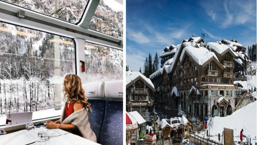 Foto: Destinații superbe pentru vacanța de iarnă, recomandate de bloggerița Cristina Gheiceanu. Inspiră-te și tu!