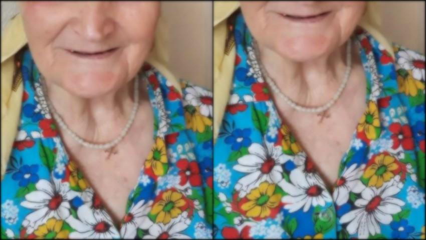 Foto: O bătrânică s-a pierdut în Capitală. Rudele cer ajutor!