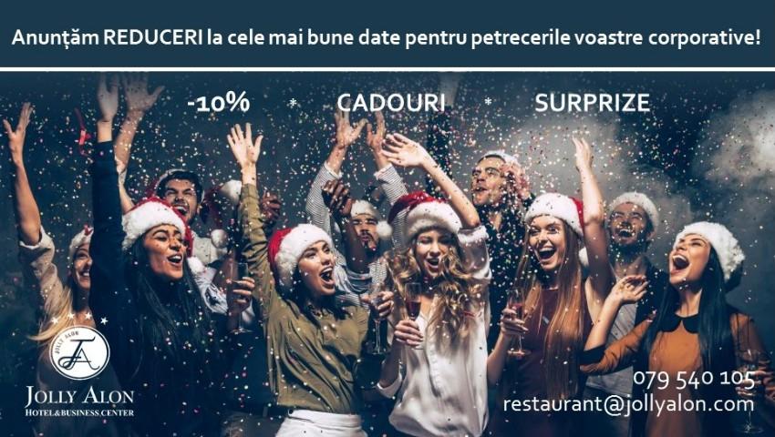 Foto: Reduceri, cadouri și oferte surprinzătoare – organizează o petrecere corporativă de vis la restaurantul Jolly Alon!