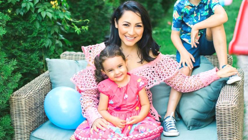 Foto: Andra a publicat o scrisoare emoționantă pentru fiica ei