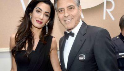Amal şi George Clooney divorţează? Dovezile că nu mai formează un cuplu