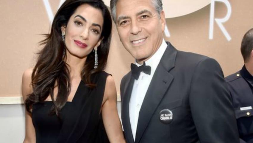 Foto: Amal şi George Clooney divorţează? Dovezile că nu mai formează un cuplu