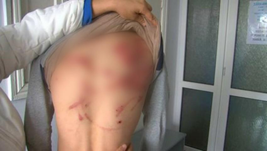 Foto: Un bărbat din Nisporeni și-a bătut cei doi copii până la sânge