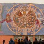 Foto: În Chișinău a apărut o pictură murală deosebită. Foto