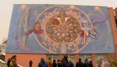 În Chișinău a apărut o pictură murală deosebită. Foto